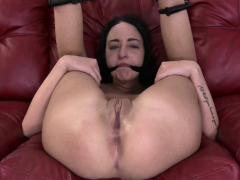Petite cutie throats & gets fucked hard