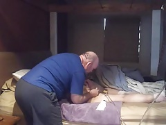 Mischievous Girl Gets Strap And Enema
