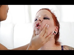 FACESLAPPING - I LOVE YOUR  ARABIC TOP DOMINA - CECILIA