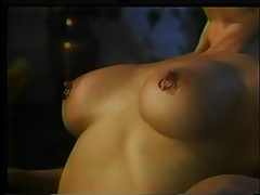 Kinky doll  and fake penis banging