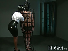 Domination & submission Gonzo Caged  dude gets xxx