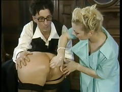 Rectal FISTING FOR FRENCH MATURE Chick BY Youthfull Chick