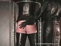 The Leather Domina - Lashing - Ass-fuck