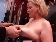 My Handsome Piercings Pierced mature victim banged breasts
