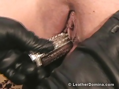The Leather Domina - Spike  and Chick Marionette