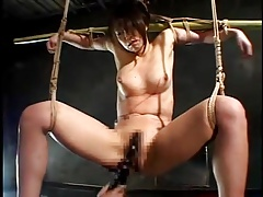 Strung up  MILF-Multiple Ejaculations