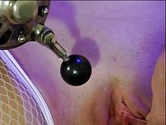 Petite tits woman eyes covered and trussed by her  for joy