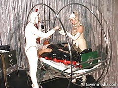 Rubber Woman Factory Part 1 Spandex Female dom