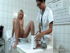 Horny and mind-blowing doctor gets her puss part6