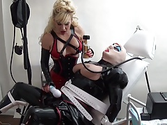 rubber tramp  in the medical clinic by Madame C