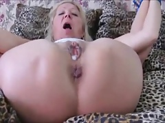 Czech granny Elvira All corded up & culo banged in High