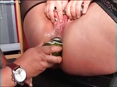 My Uber-sexy piercing mature victim strenuous pierced puss