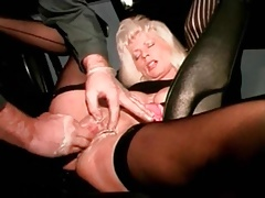 I am pierced mature  with vulva piercings fisted