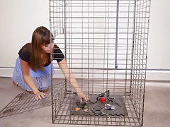 Self-Bondage In A Cell